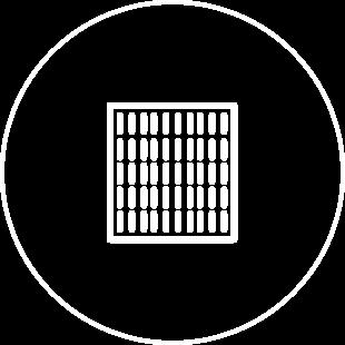 Bandejas desechables marcadas con RFID