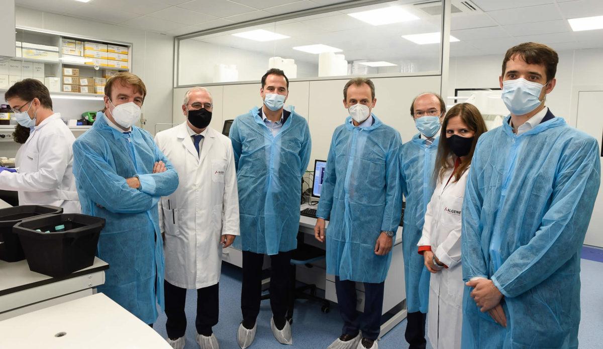Inauguración de la nueva planta de Algenex en Tres Cantos (Madrid)