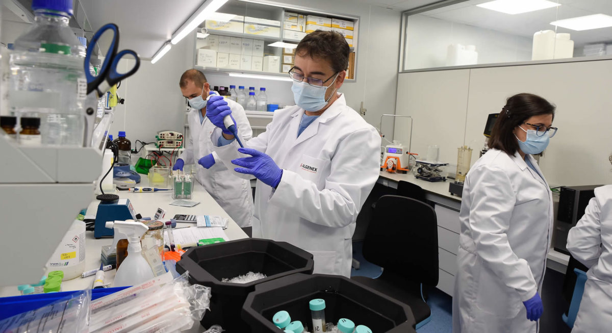 Algenex R&D Laboratory at Tres Cantos (Madrid)